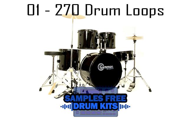 01 - 270 Drum Loops