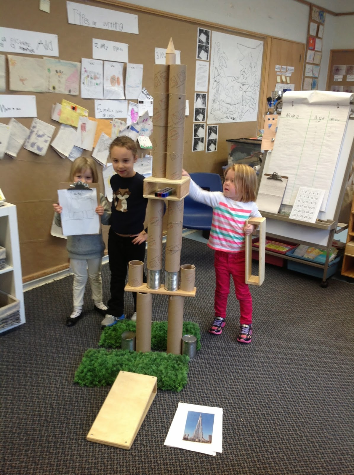 Wonders In Kindergarten An Inquiry On Towers Building On