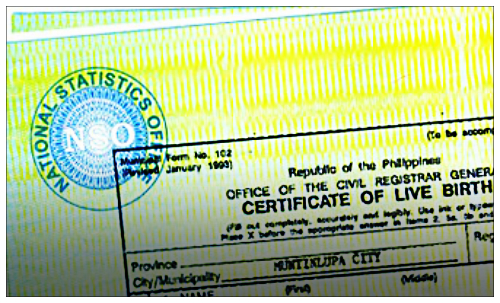 happybalasang© How to get NSO Birth Certificate, Marriage