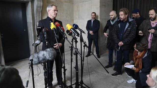 Danish police find severed head, legs of Swedish journalist