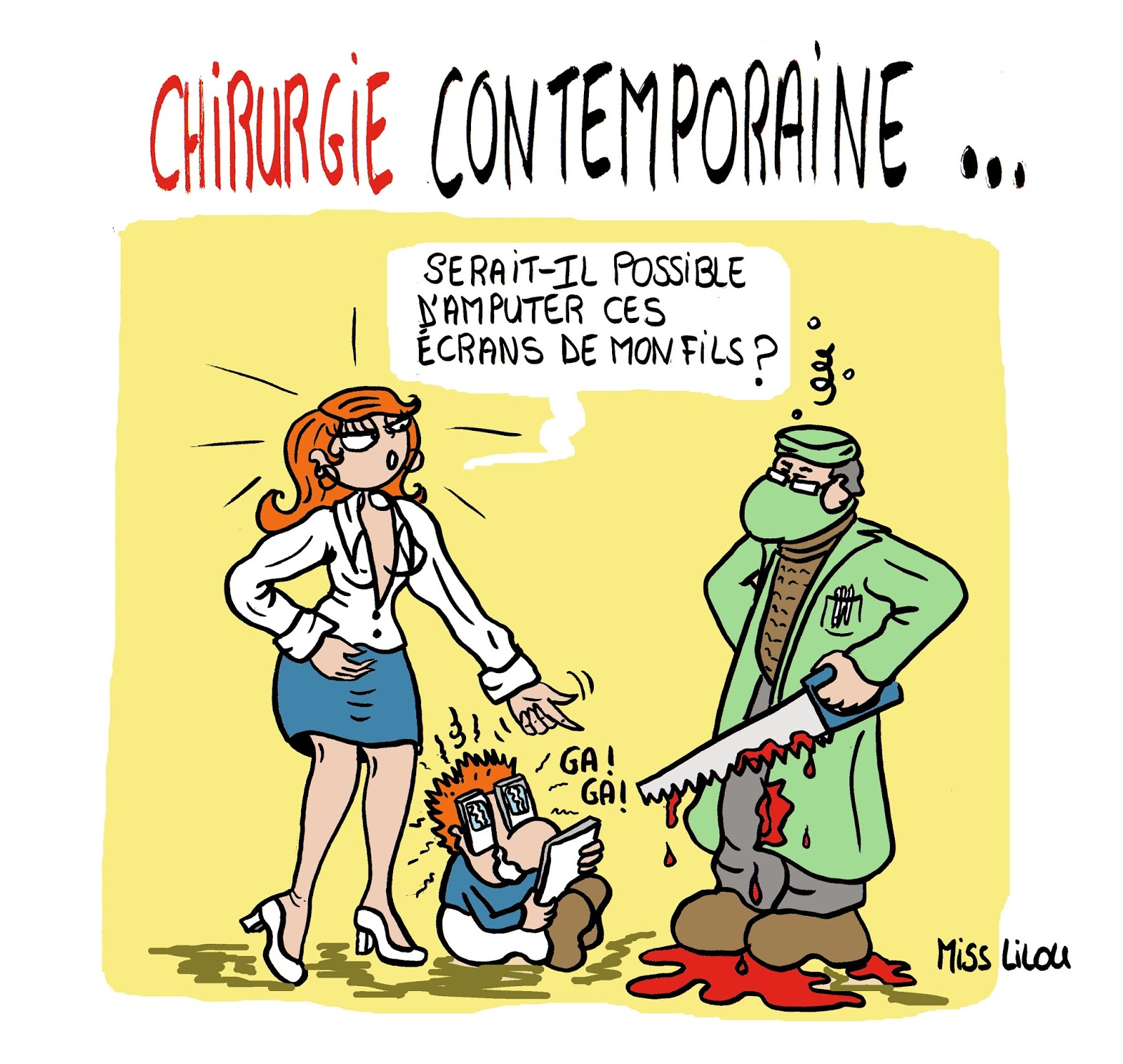 acturatons  chirurgie contemporaine