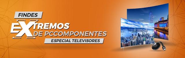 Findes Extremos de PCComponentes Especial Televisores