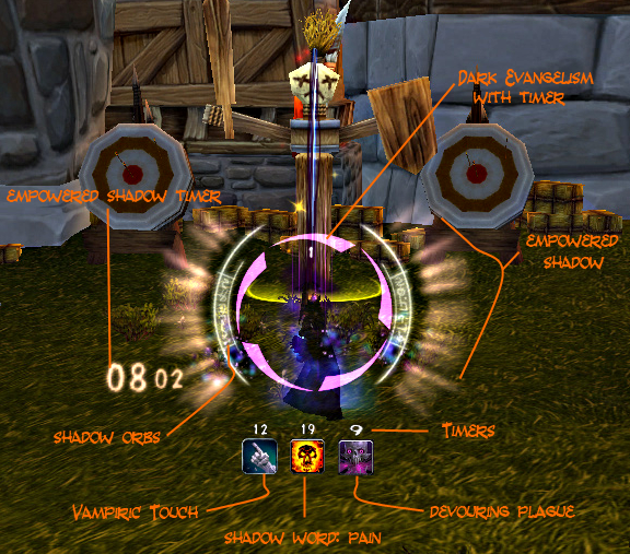Shadow Priest Power Auras ~ Amerence Love WoW