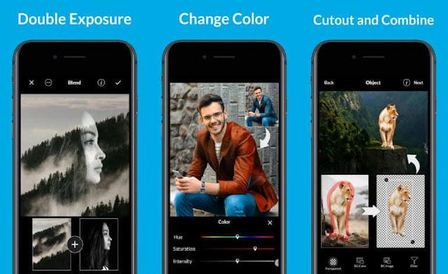 تطبيق LightX محرر الصور واضافة تأثيرات على الصور