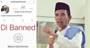 Akun Instagram Diblokir, Ustadz Abdul Somad Tetap Tak Gentar untuk Terus Berdakwah