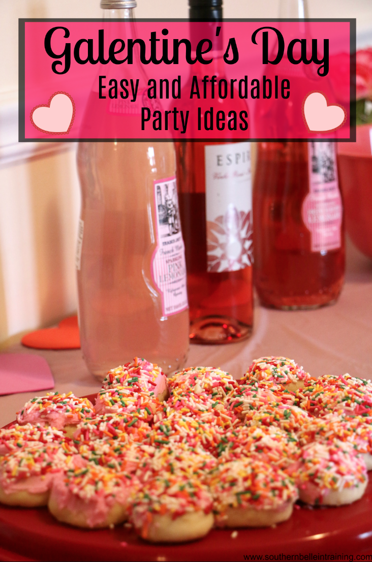 Easy Galentine's Party Inspo