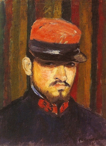 Charles Camoin Self portrait