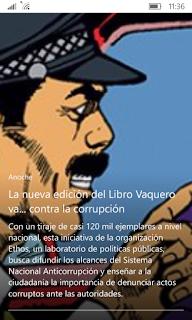 El libro vaquero contra la corrupción
