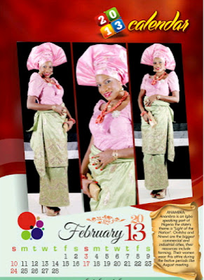 chika ike 2013 calendar