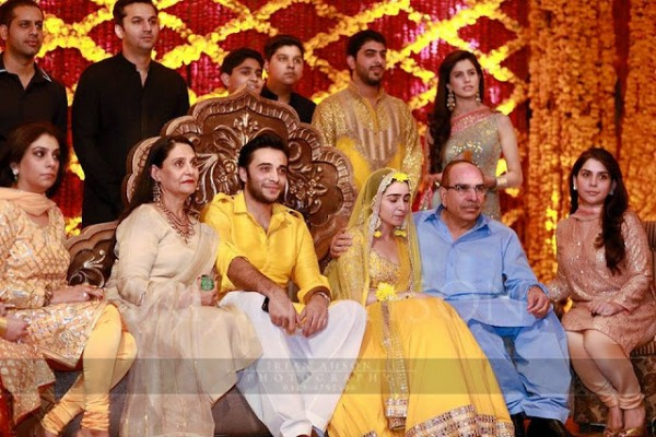 Top Business Tycoon Malik Riaz's Grand Daughter Wedding Pictures