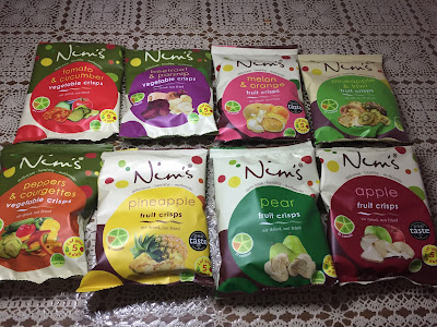 Nim's Fruit and Vegetable Crisps we were sent to try