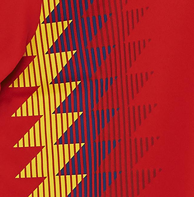 ccb89e0c39 Nova camisa da Seleção da Espanha gera polêmica - Show de Camisas