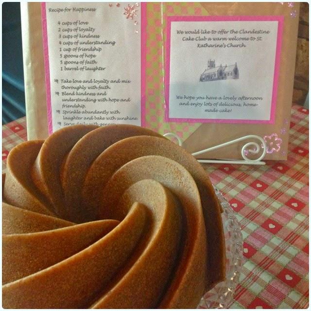 Plum and Damson Bundt Cake