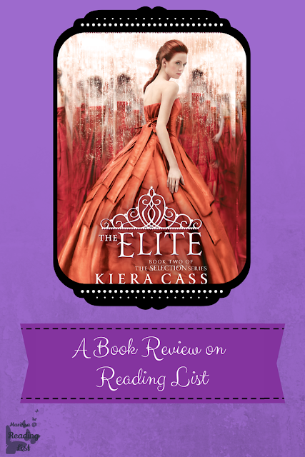 The Elite by Kiera Cass  A Book Review on Reading List    http://bit.ly/1CiI2ip
