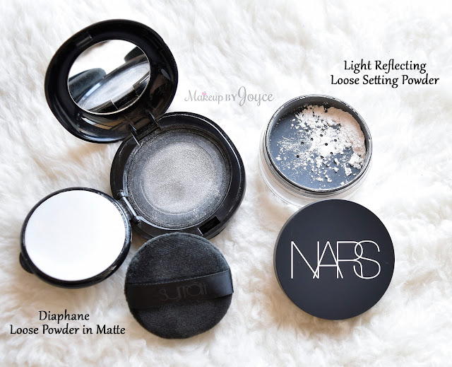 Surratt Diaphane Loose Powder vs Nars Light Reflecting Loose Setting Powder Translucent Crystal Comparison Review