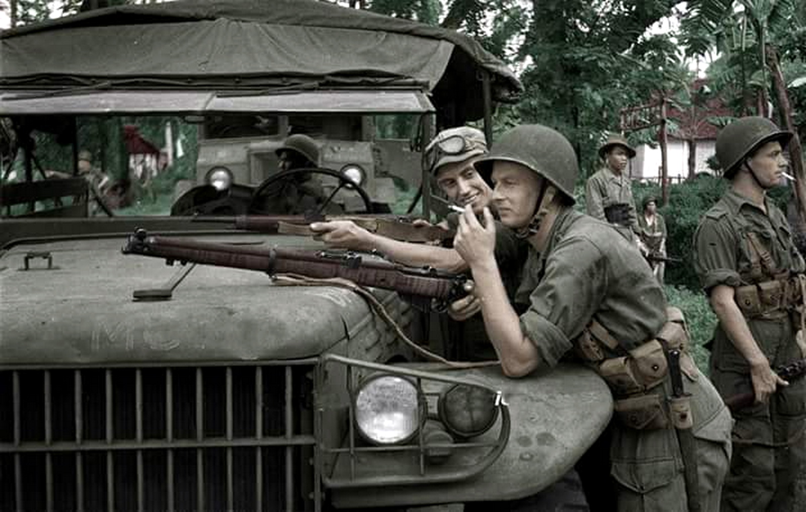 Dodge trucks in wwii - Dodge Truck With Dutch Troops