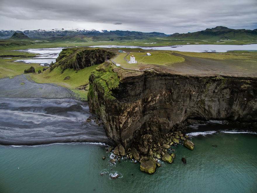 Vik - 40 Reasons To Visit Iceland With A Drone
