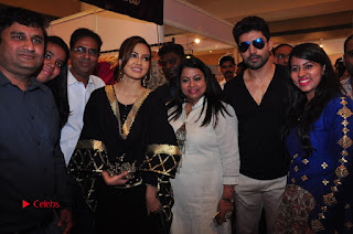 Bollywood Actress Sana Khan Launches Aakrithi Exibition  0339.JPG