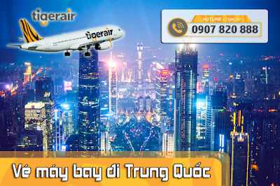 Đặt vé máy bay đi Trung Quốc tại Hóc Môn