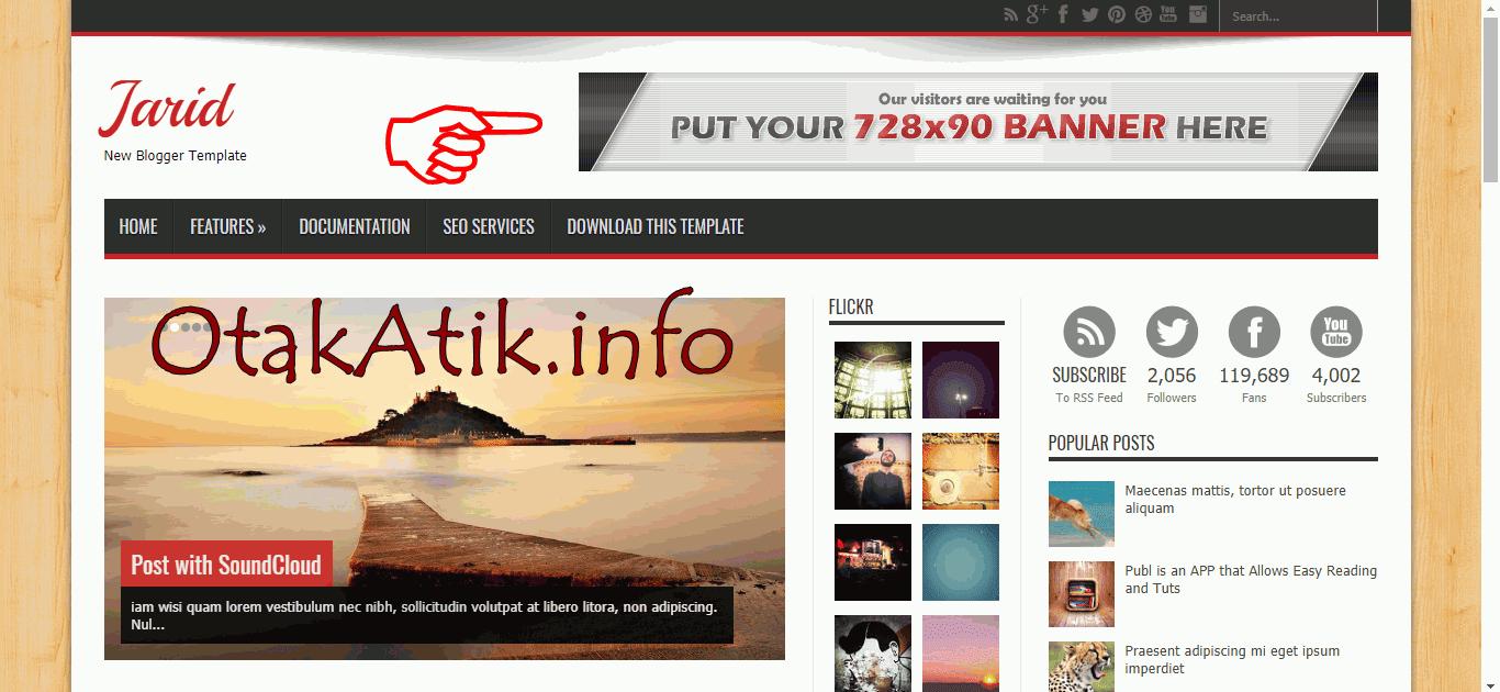 Cara Memasang Iklan Google AdSense di Samping Judul Blog ...