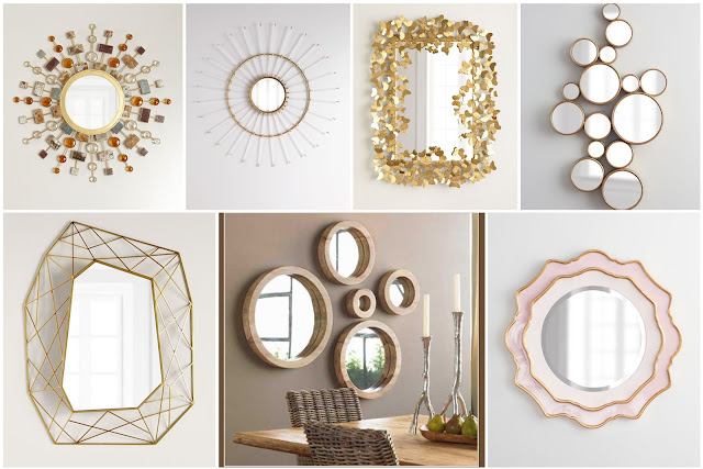 15 Newest Mirrors Decorated With Golden Frames