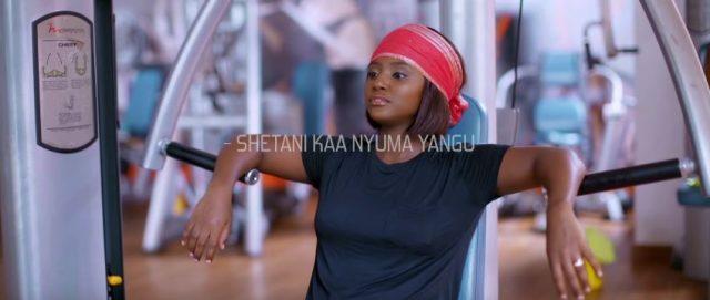 Nancy Hebron - Shetani Kaa Nyuma Yangu Video