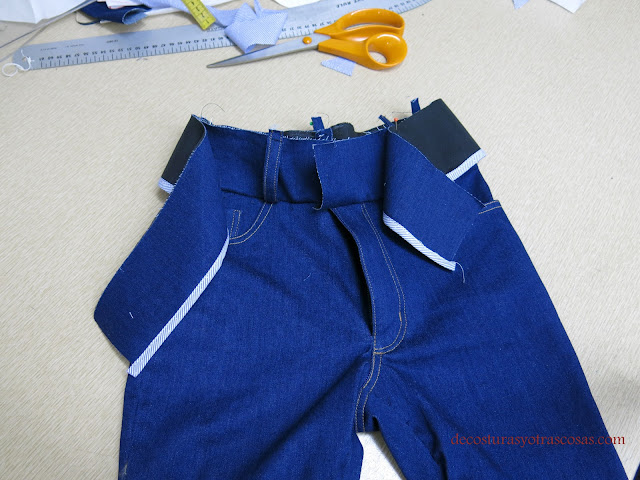 jeans stretch tutorial de costura