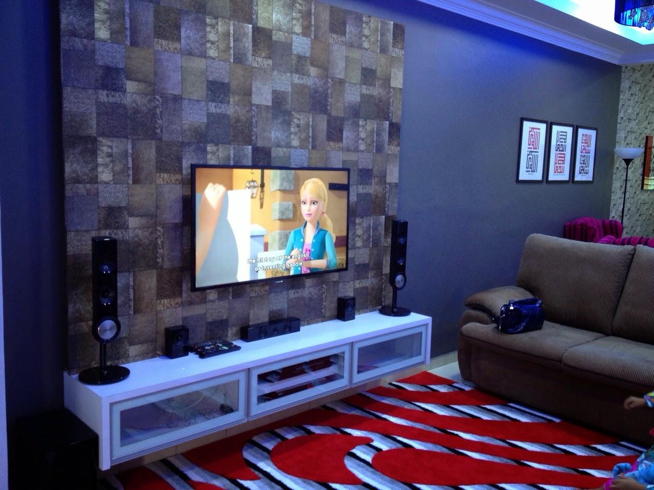 Dekorasi Ruang Tamu Rumah Teres Setingkat 2018
