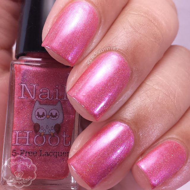 Nail Hoot Lacquer - Numbers Holo'd