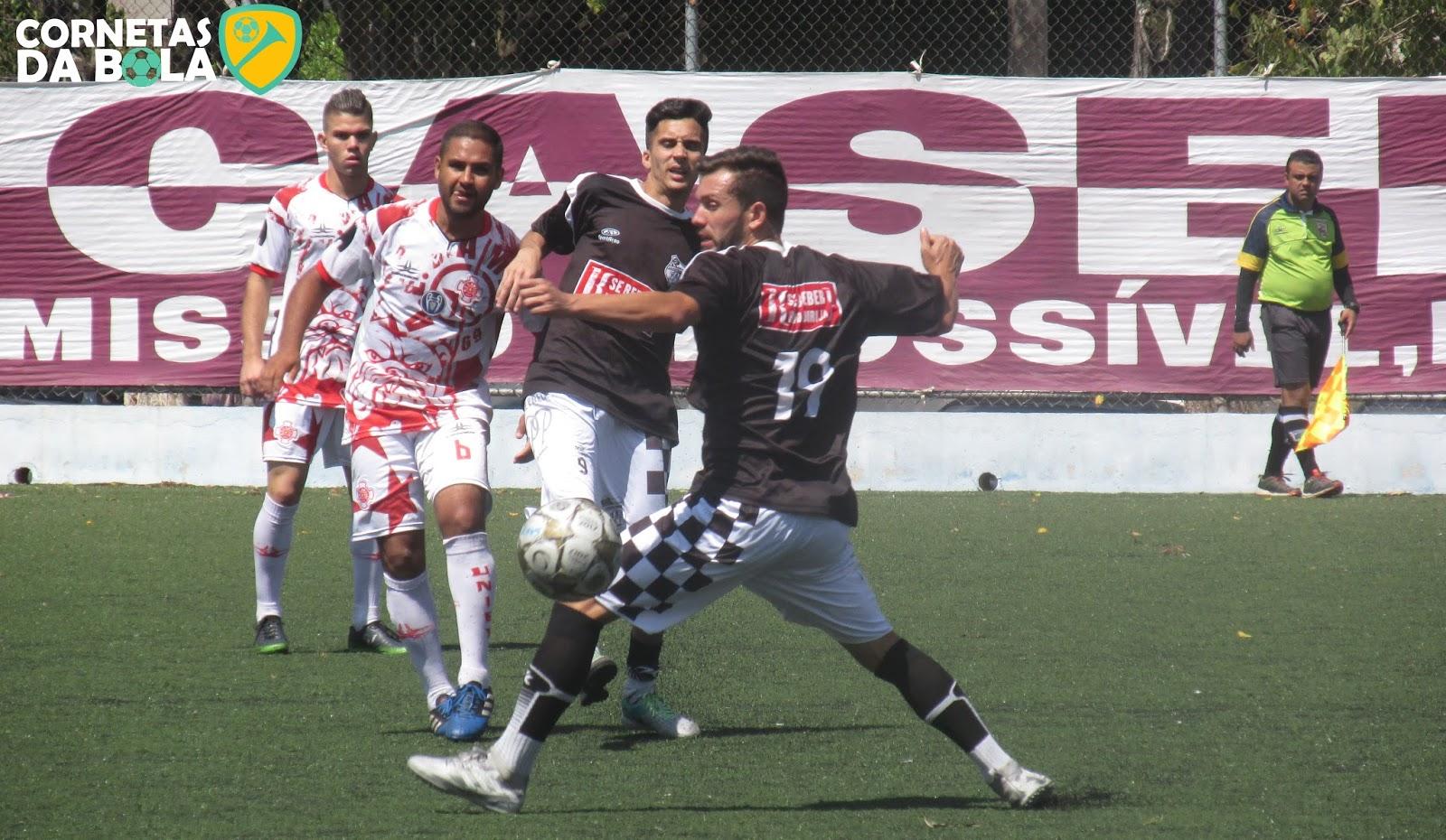 d1650de275 ... confronto foi entre as equipes da SE Ponte Preta do Jardim Mirna que  bateu por 2 a 1 o AE Santa Amélia
