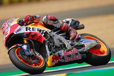Ini Penyebab Utama Marquez Jatuh di GP Prancis