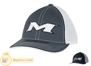 """NEWEST"" M-Logo Web Baseball Hat by Miken"