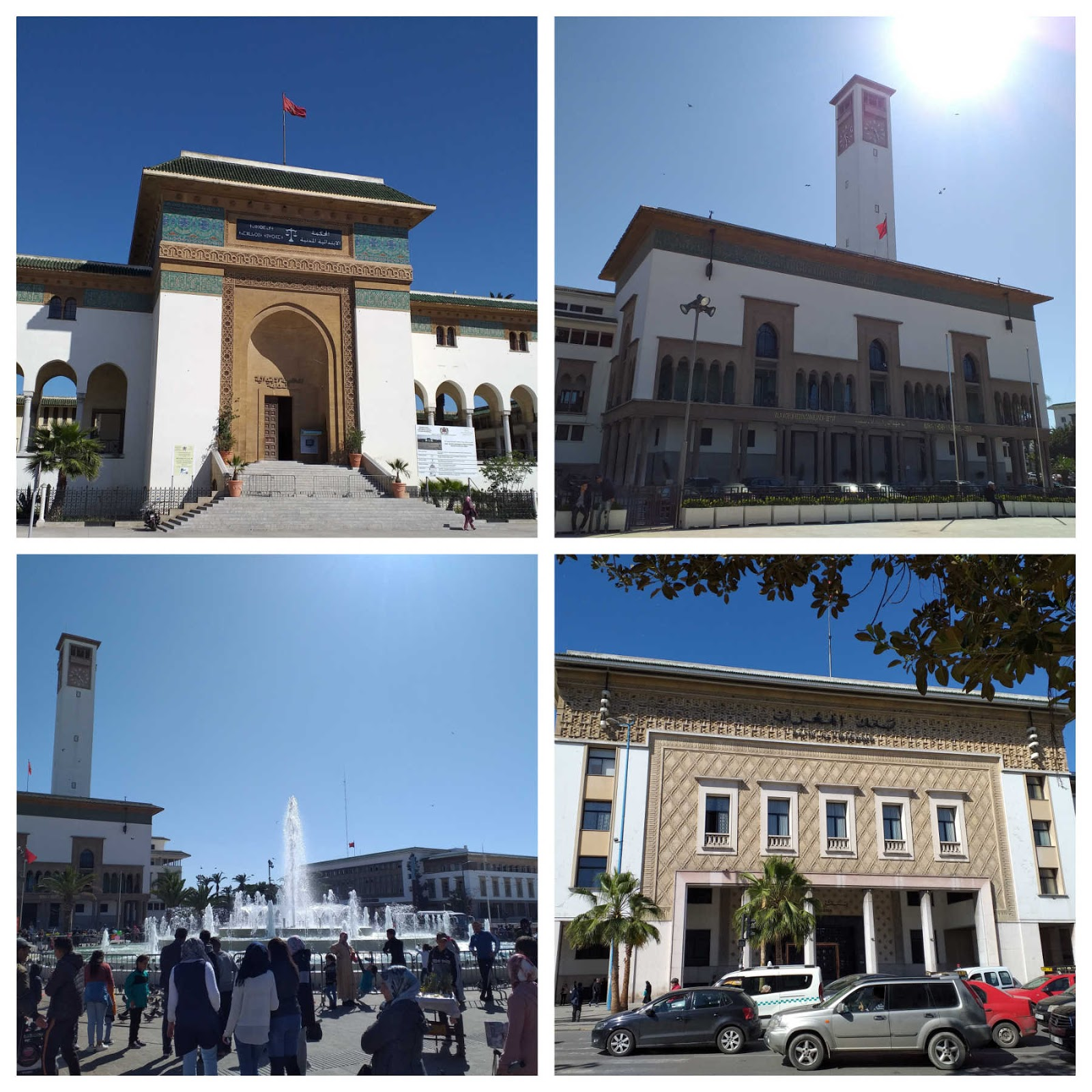 Praça Mohammed V, Casablanca, Marrocos