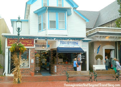 The Washington Street Mall in Cape May, New Jersey