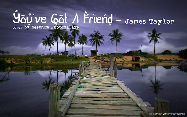 You've Got A Friend - James Taylor - Electric guitar cover by Neezhom Photomalaya