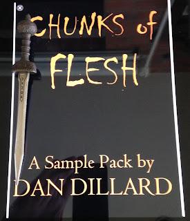 Portada del libro Chunks of Flesh, de Dan Dillard