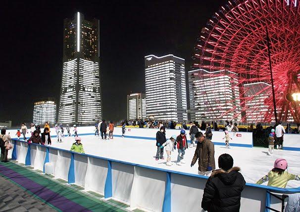 みなとみらいの絶景が楽しめる!横浜ワールドポーターズに 「天空のスケートリンク」が登場した理由は?