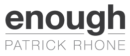 book cover image - Enough, by Patrick Rhone