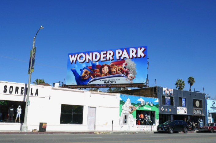 Wonder Park billboard
