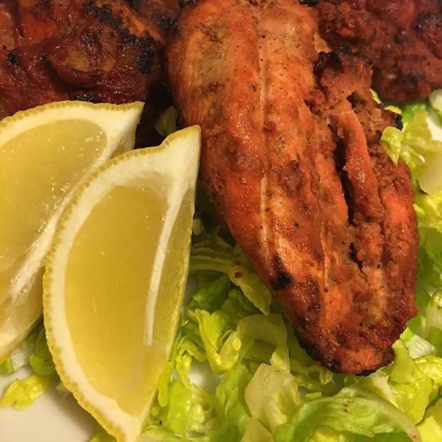 تحضير ::دجاج تندوري وصفة هندية حااارة
