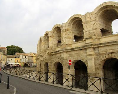 Anfiteatro de Arlés. La Camarga. La Provenza