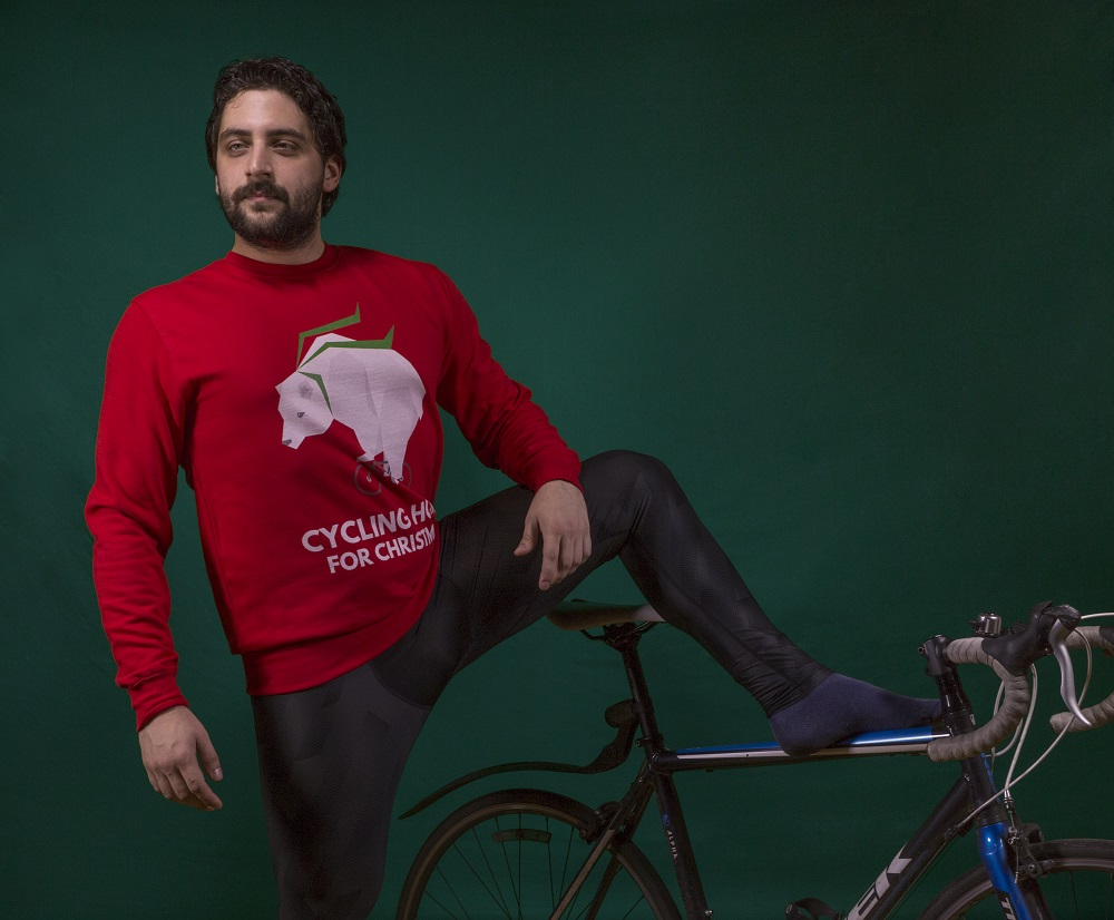 Cycling Home For Christmas Jumper: Jolly Christmas Jumper Review