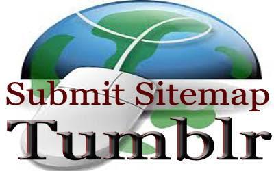 Panduan submit sitemap peta situs tumblr