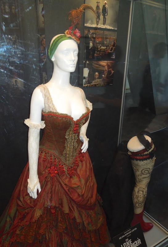 Helena Bonham Carter saloon dress Lone Ranger