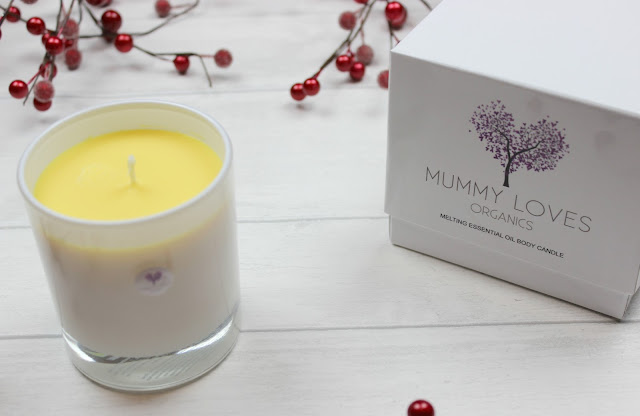 A review of Mummy Loves Melting Essential Oil Sleep Body Candle