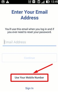facebook new account create now gmail