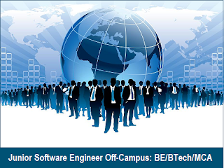 Junior Software Engineer Off-Campus at Statnetics DSoft: BE/BTech/MCA (All Branches)