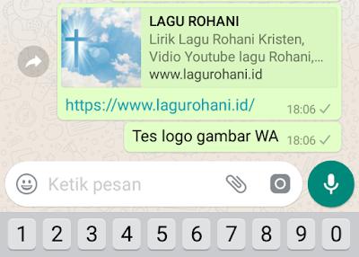 Cara menampilkan gambar icon Blog utama saat di share ke Whatsapp
