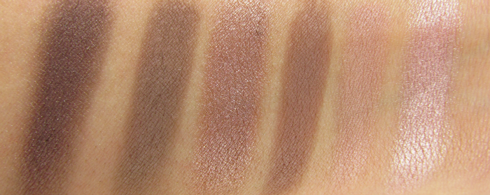 Review: ARTDECO - Most Wanted Eyeshadow Palette Nude - Swatches Teil 1