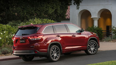 Carshighlight.com - 2019 Toyota Highlander Review, Specs, Price